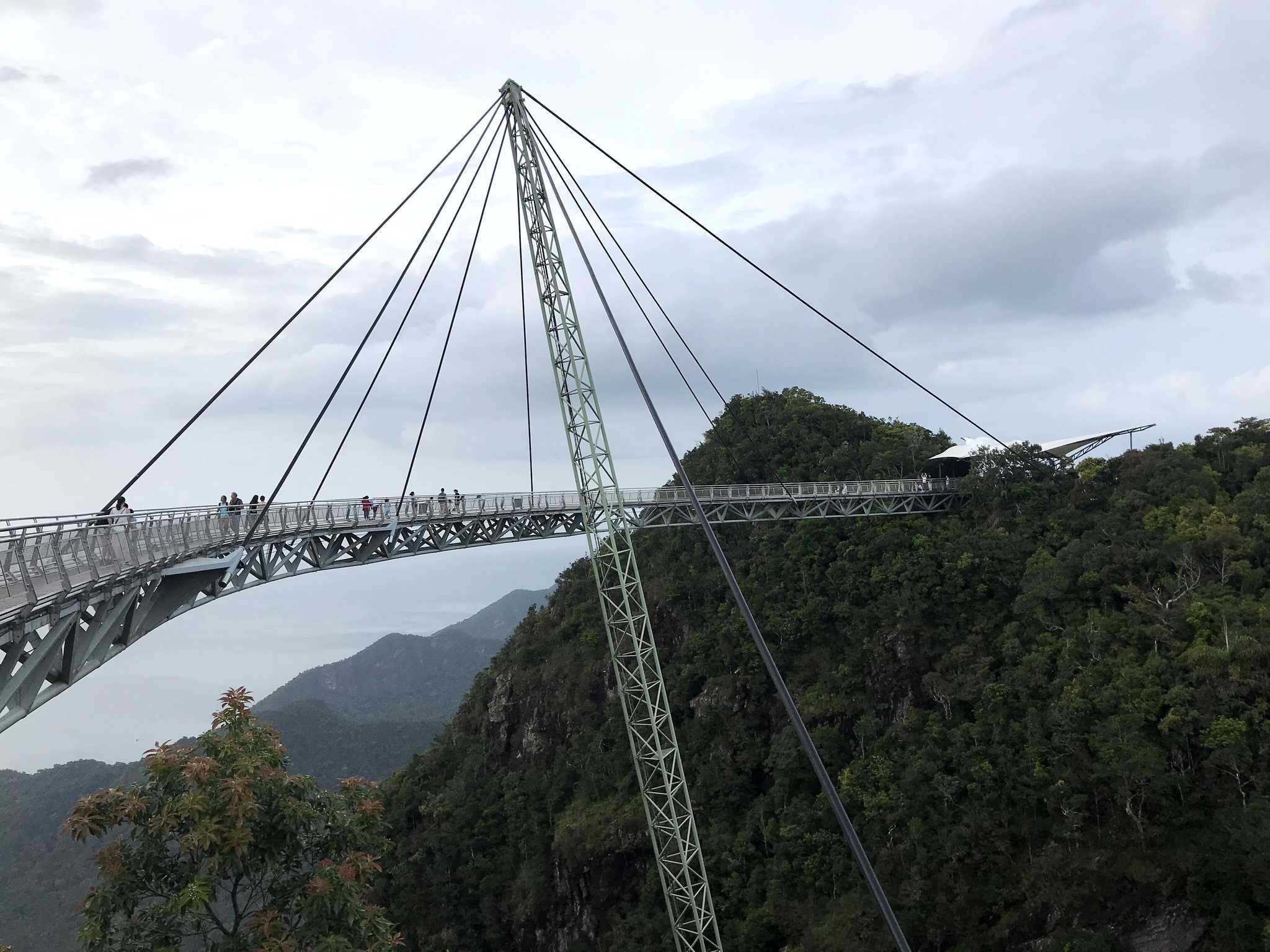 Longest single point suspension bridge, Langkawi